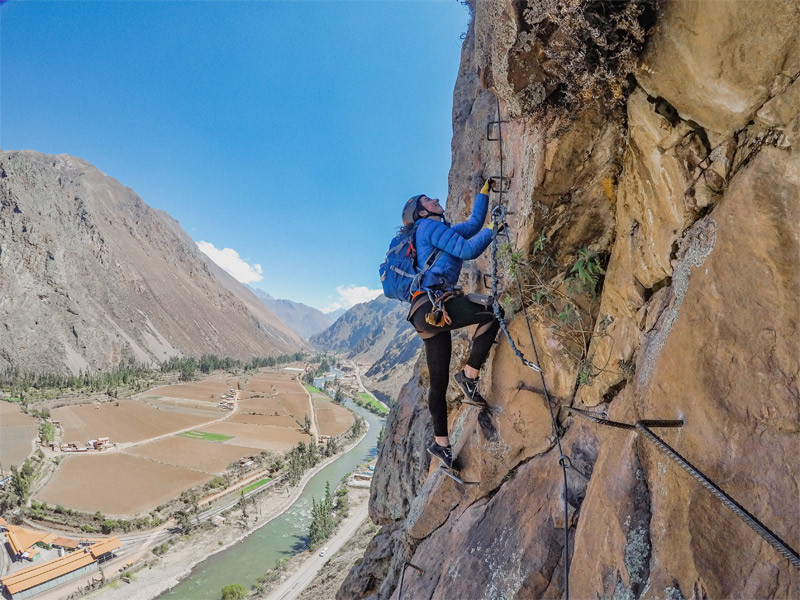 VIA FERRATA CLIMBING & ZIPLINING IN THE SACRED VALLEY: AN ADRENALINE-FILLED DAY TRIP FROM CUSCO
